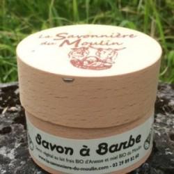 SAVON BARBE -SANS PARFUM- LE PT'I MEUSIEN 30% lait